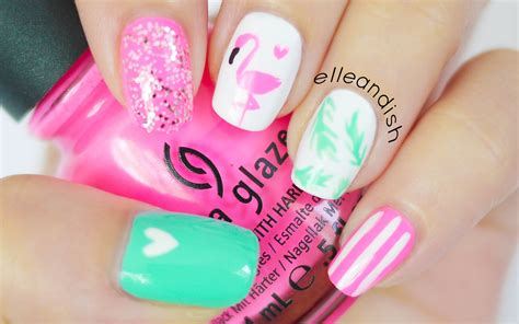 Flamingo Nail Sticker by Flamingo Nails Bonus Diy Nail Sticker