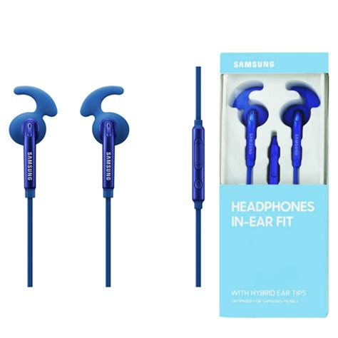 Hybrid Headphone In Ear Original samsung headphones in ear fit eo eg920b hybrid headphone in ear in blue original gadgets house