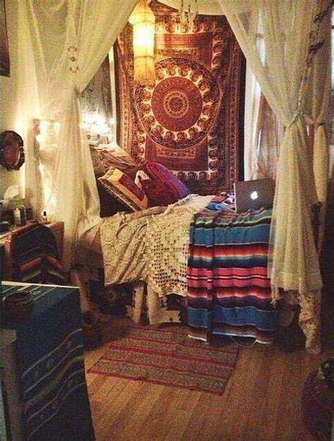 hippie schlafzimmer room goals image 3594262 by maria d on favim