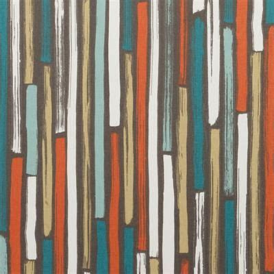 Orange And Teal Curtains Teal Orange Upholstery Fabric Teal Geometric Cotton