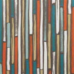 Orange And Teal Curtains Teal Orange Upholstery Fabric Teal Geometric Cotton Curtain Shade Fabric Modern