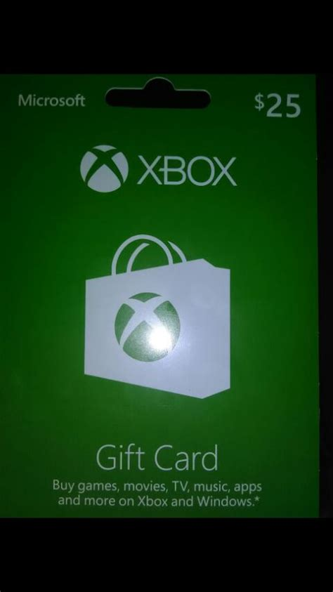 xbox one gift card template letgo microsoft xbox gift card in greenfield wi