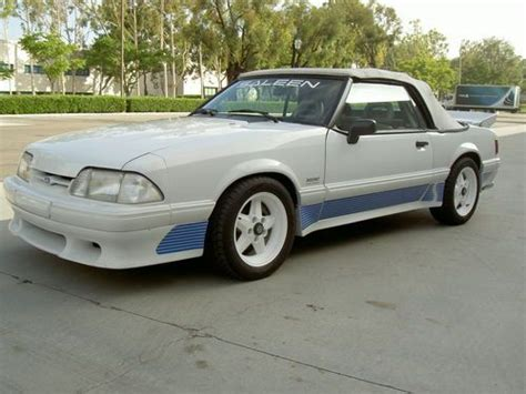 1991 white convertible 24 900 buy or sell classic buick reatta coupe or convertible sell used 1991 ford mustang saleen convertible 43 in orange county ca united states for us