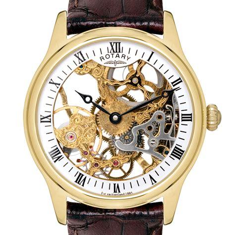 mens gold designer watches