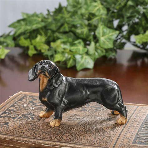 dachshund home decor small dachshund dog figurine table decor home decor