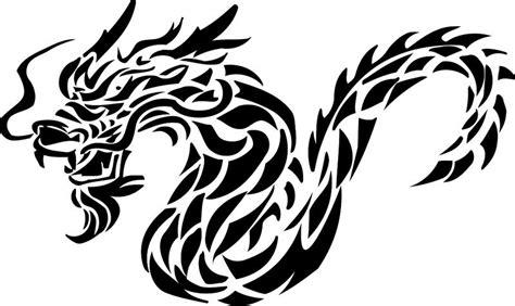 tribal tattoo dragon vector illustration free tribal tattoo flash slideshow