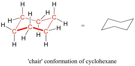 Cyclohexane Chair Conformation by 3 2 Conformations Of Cyclic Organic Molecules Chemistry