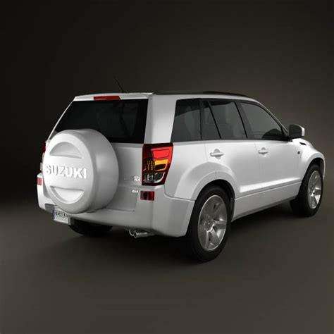Suzuki Grand Vitara 3d Suzuki Grand Vitara 2011 3d Model Humster3d