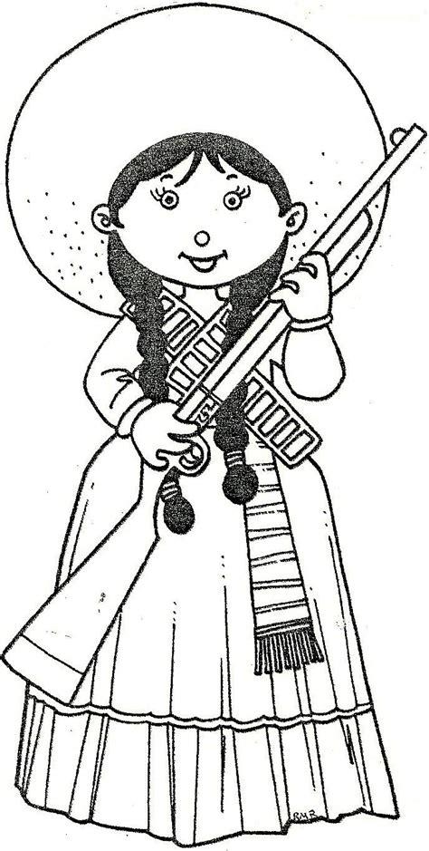 imagenes para colorear sobre la revolucion mexicana pinto dibujos dibujos de la revoluci 243 n mexicana 20 de