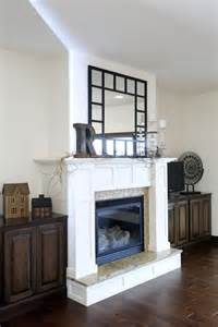 White Fireplace Hearth by Antique White Fireplace Cedar Valley Home Garden