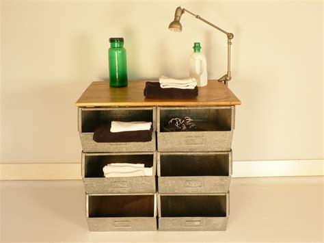 Attrayant meuble de rangement a casier #1: bac-casier-rengement-usine-metal.jpg
