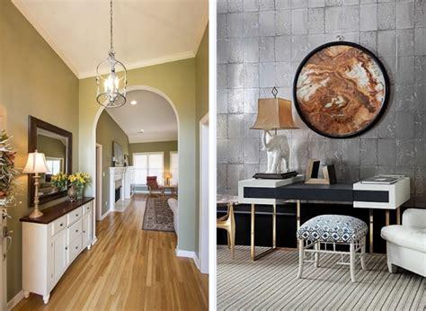 Ideen Flurgestaltung Tapete by 62 Ideen F 252 R Farbgestaltung Im Flur Und Eingangsbereich