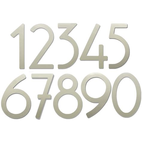 Adhesive House Numbers And Letters - adhesive house numbers 5 inch in house numbers