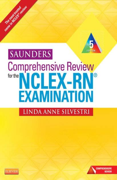 saunders comprehensive review for the nclex rn