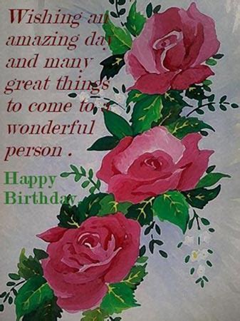 Wish A Wonderful Birthday. Free Birthday Wishes eCards