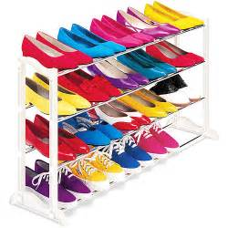 lynk 20 pair shoe rack walmart
