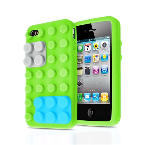 Soft Iphone 44s55s66s66s Sam 3d blocks brick building lego soft silicone stand cover for apple iphone 4s ebay