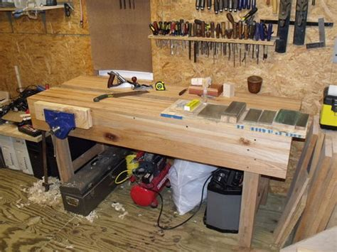 paul sellers bench heavily modified paul sellers workbench 4 into the