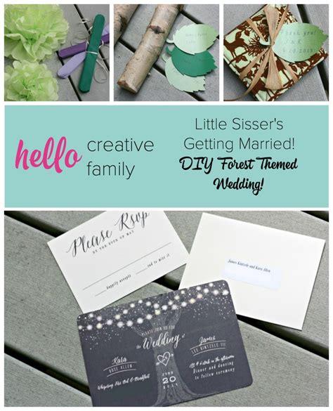 Hello 2015 Pair Set 8in1 woodsy themed wedding invitations wedding invitation ideas