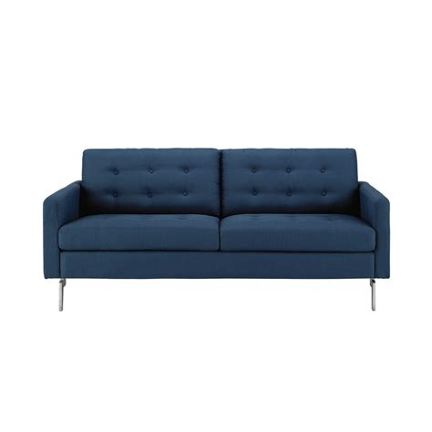 2 3 Seater Sofa by 2 3 Seater Fabric Sofa In Midnight Blue Victor Maisons