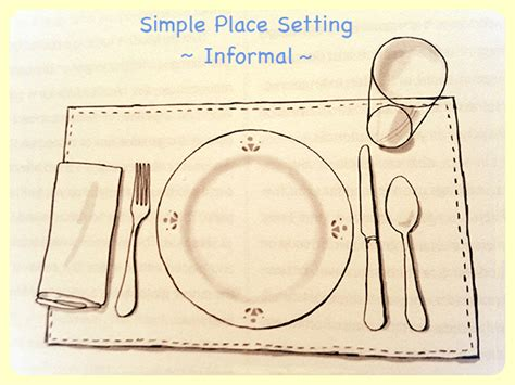 simple place setting 28 images table setting basics