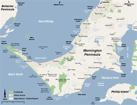 peninsula map opinions on mornington peninsula