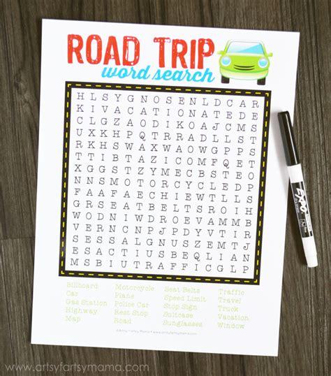 printable road trip planner 9 best images of free printable road trip planning road