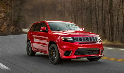 News   2018 Jeep Grand Cherokee Trackhawk Coming To Oz
