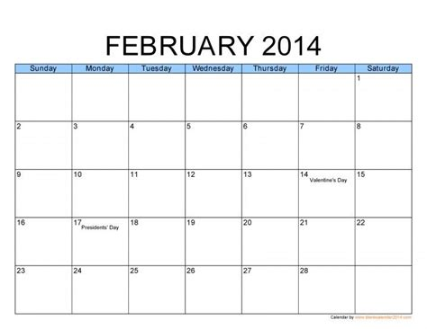free yearly calendar templates 2014 calendar pinterest