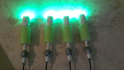 underwater lights for boat docks my underwater led dock lighting project the hull truth