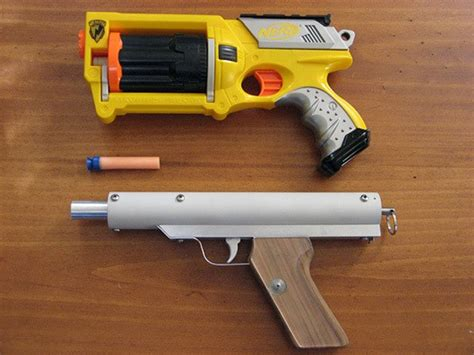 build your own gun make your own nerf gun that performs better mikeshouts