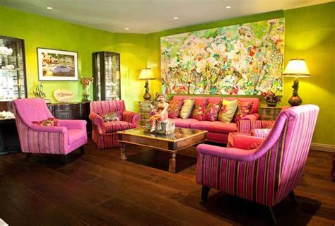 indian inspired living room paint pattern green indian interiors