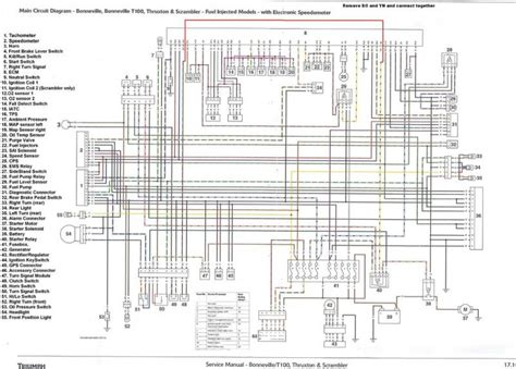 t100 triumph motorcycle wiring diagrams 675 speed