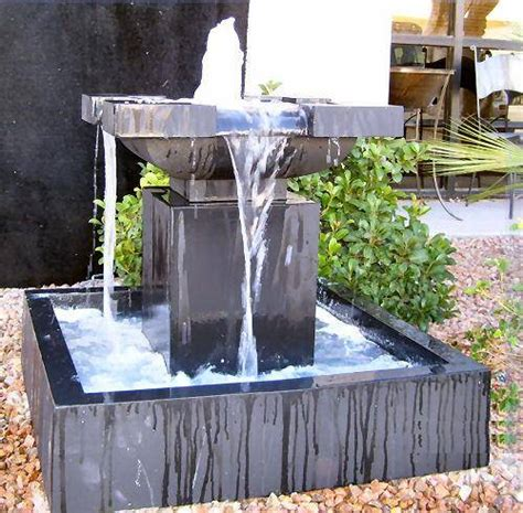 Modern Water Fountain | modern water fountain designs the interior design