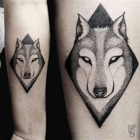 dotwork wolf tattoo best tattoo ideas gallery