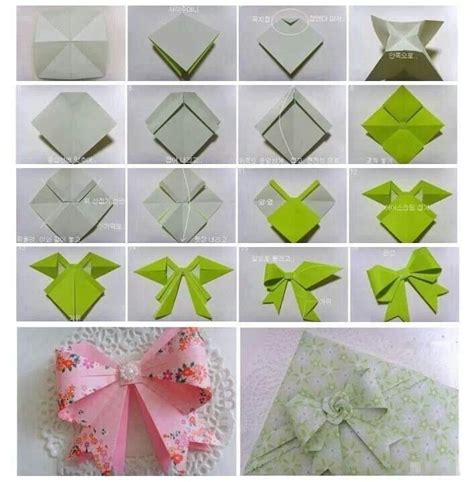 How To Make A Origami Bow And Arrow - paper bow diy crafts