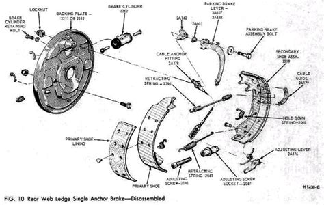 ford drum brake diagram ford focus drum brake diagram imageresizertool