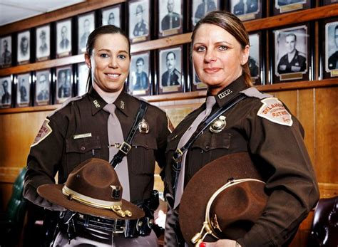 hair cts for female state troopers in conn oklahoma highway patrol hopes to add more female troopers