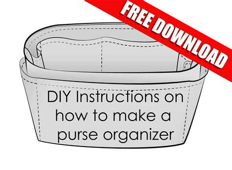 how to crate your easy on how to make your own purse organizer cloversac