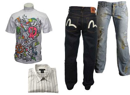 wholesale clearance of mens designer clothing self