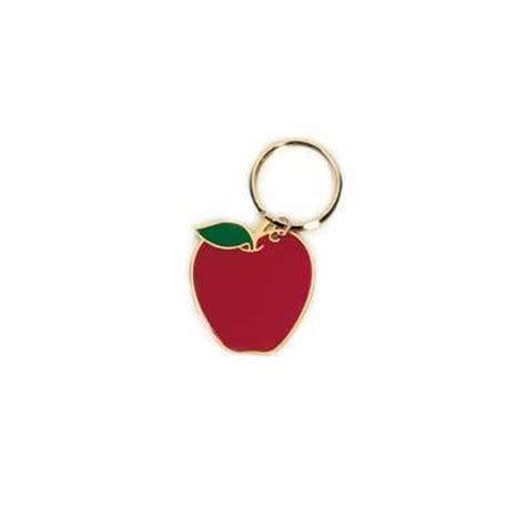 apple keychain keychains engraved keychain gifts
