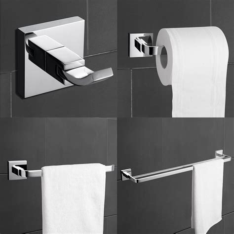 towel rack sets bathrooms 4 piece towel bar set bath accessories bathroom hardware
