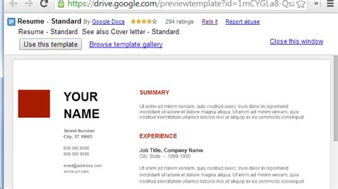 Google Docs Resume Template Free Learnhowtoloseweight Net Resume Template Docs Learnhowtoloseweight