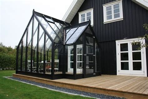 Attached Solarium Layout For Deck With Attached Greenhouse Or Screened In