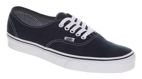 vans authentic dress blue wht trainers shoes ebay