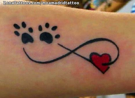 imagenes de tatuajes de un infinito tatuaje de infinitos corazones huellas