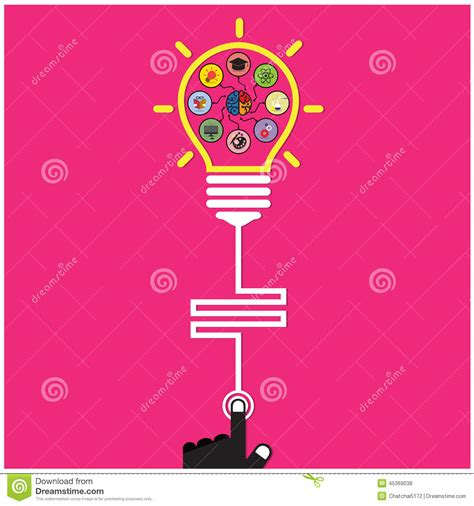 creative poster design vector infographic template creative light bulb and brain