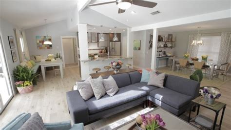property brothers cori soroosh distressed white oak floors and gray paint interior design