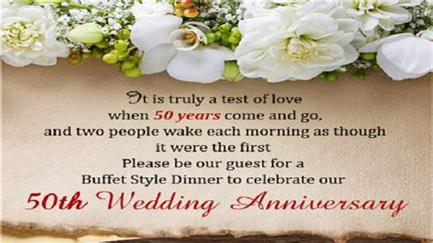 50th Wedding Anniversary Quotes by 50th Anniversary Quotes Wedding Anniversary Quotes