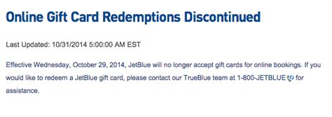 Jetblue Gift Card - jetblue gift cards discontinued for online reservations deals we like